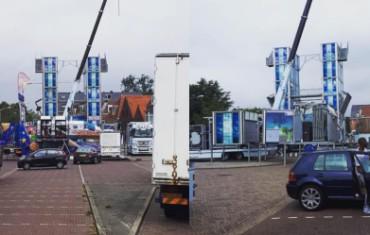 Attracties rijden Hoorn in